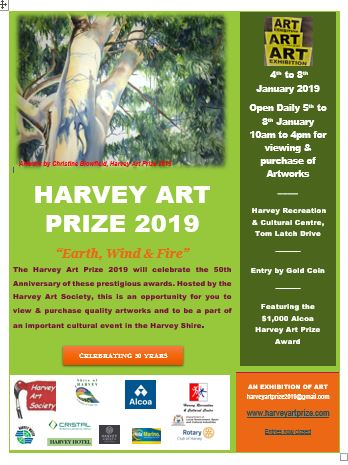 Harvey Art Prize Poster final 17 12 18